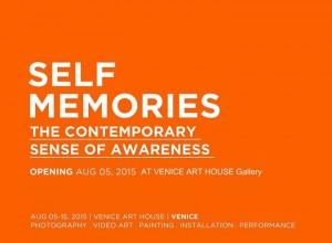 2015 -wystawa zbiorowa SELF MEMORIES, VENICE ART HOUSE , Wenecja, Włochy