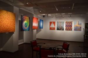 2018 - wystawa zbiorowa WIZJE, Galeria im.Bolesława Biegasa, Ciechanów